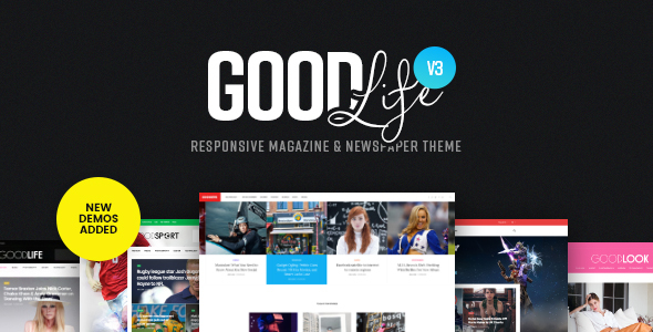 GoodLife v3.2.6 — Responsive Magazine Theme
