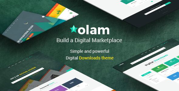Olam v4.0 — WordPress Easy Digital Downloads Theme