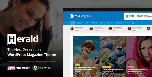 Herald v1.9.1 — News Portal & Magazine WordPress Theme