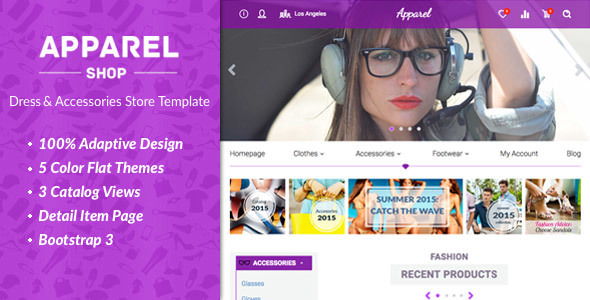 Apparel v1.4.0 — Clothes and Accessories WooComerce Theme