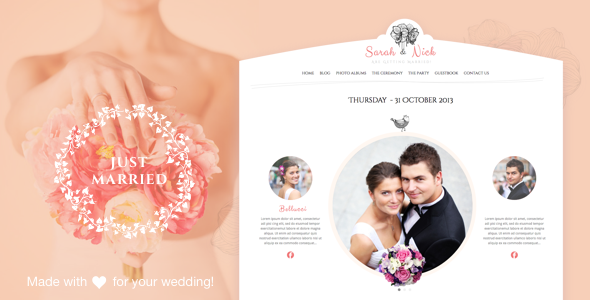 The Wedding Day v18 — Wedding & Wedding Planner