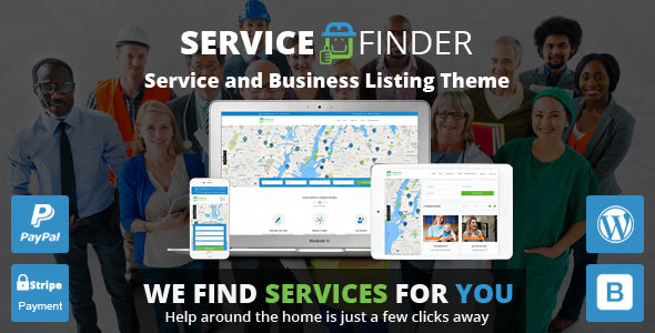 Service Finder v3.2- Provider and Business Listing Theme
