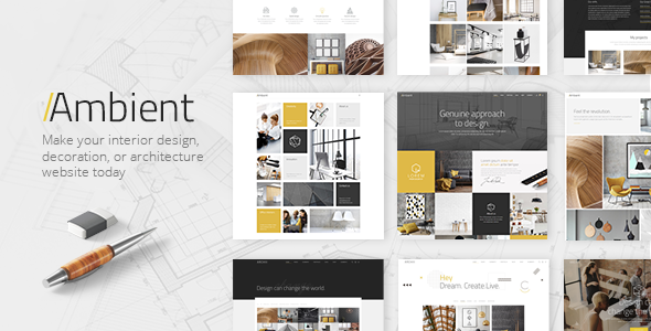 Ambient v1.2 — A Contemporary Theme for Interior Design