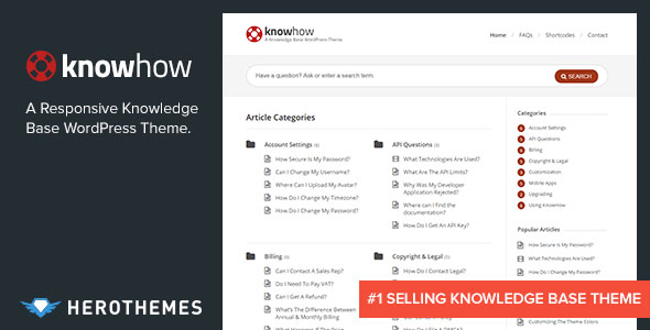 KnowHow v1.1.12 — A Knowledge Base WordPress Theme
