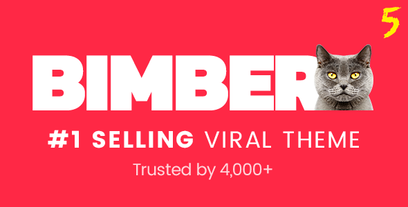 Bimber v5.3.4 — Viral Magazine WordPress Theme