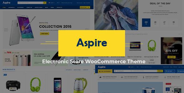 Aspire v2.2 — Electronic Store WooCommerce WordPress Theme