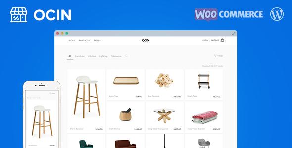 Ocin v1.4.3 — Responsive WordPress WooCommerce Theme