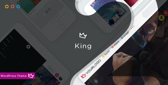 King v2.0 — WordPress Viral Theme