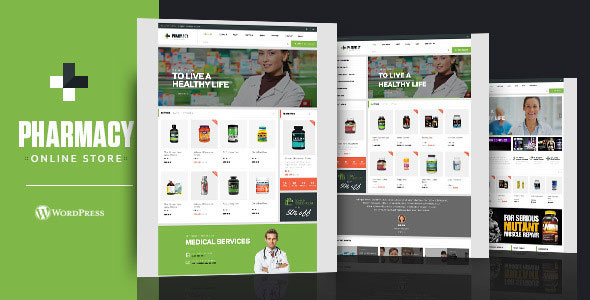 Pharmacy v1.8.7 — WooCommerce WordPress Responsive Theme