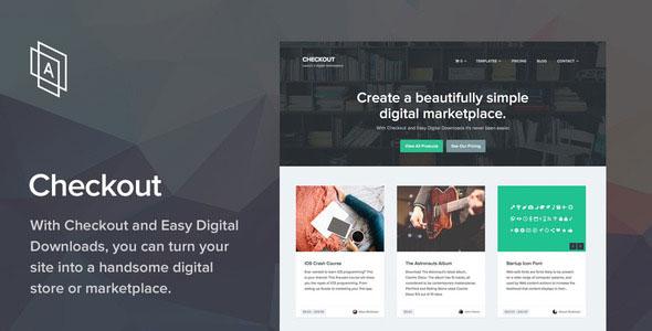 Checkout v2.0.9 — WordPress eCommerce Theme