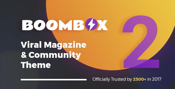 BoomBox v2.1.2 — Viral Magazine WordPress Theme