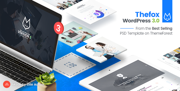 TheFox v3.1.4 — Responsive Multi-Purpose WordPress Theme
