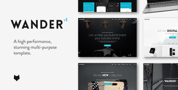 Wander v1.1.2 — The Multi-Purpose Template