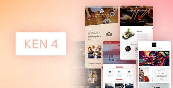 The Ken v4.1 — Multi-Purpose Creative WordPress Theme