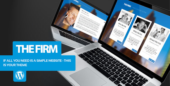The Firm v1.4 — Simple Company WordPress Theme