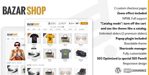 Bazar Shop v3.1.5 — Multi-Purpose e-Commerce Theme