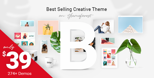 Bridge v13.4 — Creative Multi-Purpose WordPress Theme