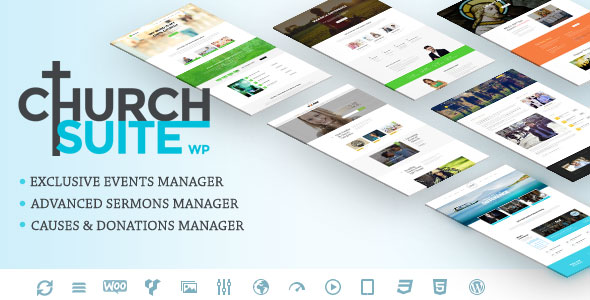 Church Suite v2.4.0 — Responsive WordPress Theme