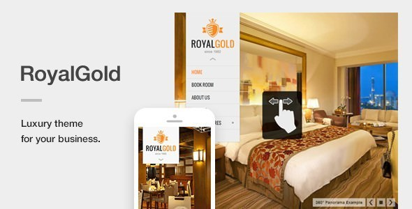RoyalGold v1.4.4 — A Luxury & Responsive Hotel or Resort Theme