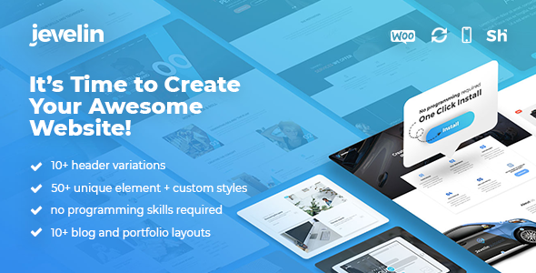 Jevelin v2.5.6 — Multi-Purpose Premium Responsive Theme