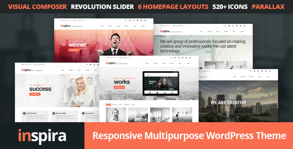 Inspira v1.4 — Responsive Multipurpose WordPress Theme