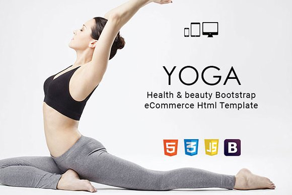Yoga — Health & beauty Html Template