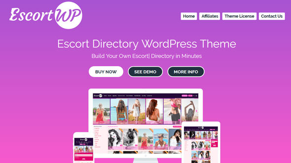 EscortWP v3.0 — Escort Directory WordPress Theme