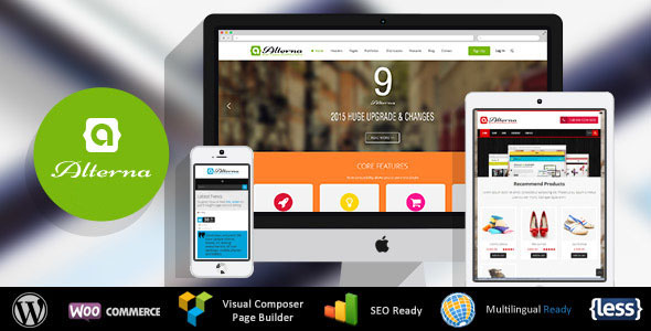 Alterna v9.12 — Ultra Multi-Purpose WordPress Theme