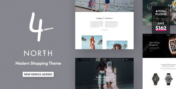 North v4.0.8 — Responsive WooCommerce Theme