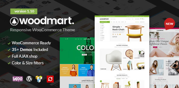 WoodMart v1.10.0 — Responsive WooCommerce WordPress Theme