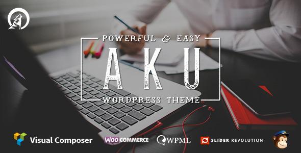 Aku v2.3.3 — Powerful Responsive WordPress Theme