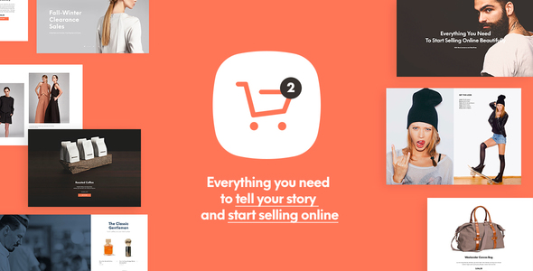 Shopkeeper v2.4.4 — Responsive WordPress Theme