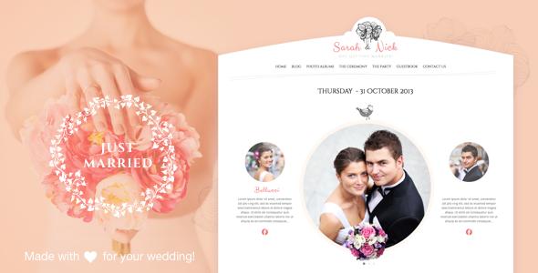The Wedding Day v18.3 — Wedding & Wedding Planner
