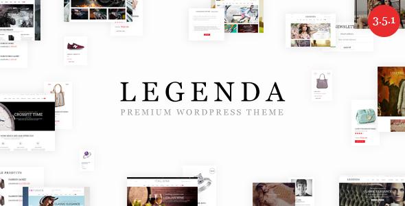 Legenda v3.5.1 — Responsive Multi-Purpose WordPress Theme