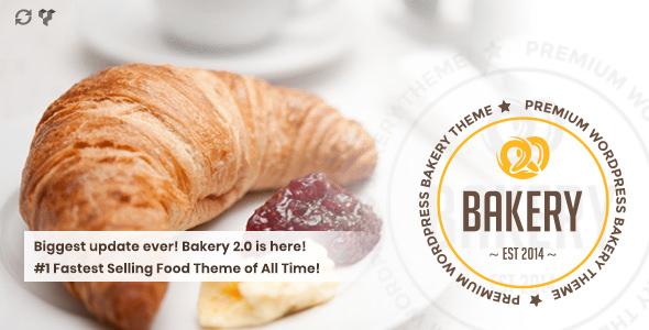 Bakery v2.0 — WordPress Bakery, Cakery & Food Theme