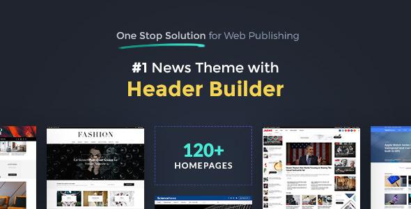 JNews v1.2.2 — One Stop Solution for Web Publishing