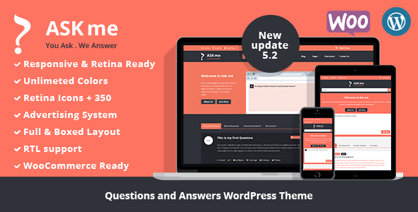 Ask Me v5.2 — Responsive Questions & Answers WordPress