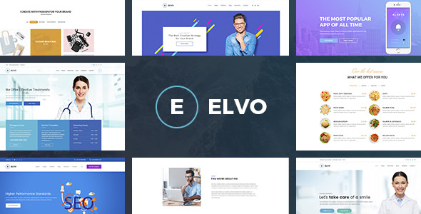 ELVO — Business Multipurpose PSD Template
