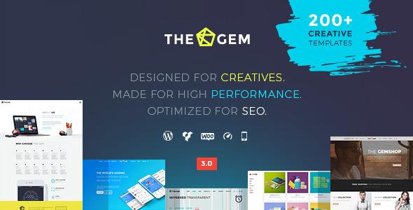 TheGem 3.0.6 — Creative Multi-Purpose WordPress Theme