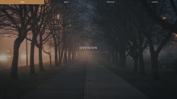 Dawn — Responsive Portfolio Template