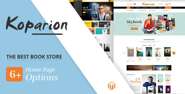 Koparion v1.0 — Book Shop Responsive Prestashop Theme