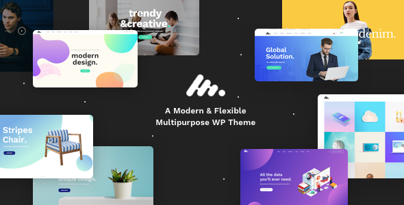 Moody v1.2 — A Modern & Flexible Multipurpose WordPress Theme