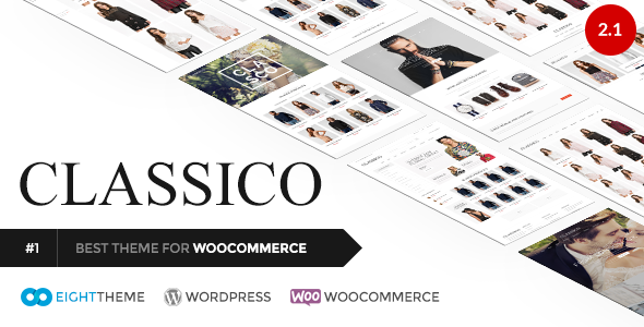 Classico v2.1 — Responsive WooCommerce WordPress Theme