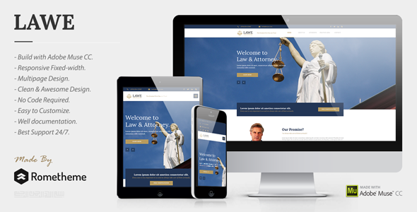 LAWE v1.0 — Lawyer and Attorney Muse Template