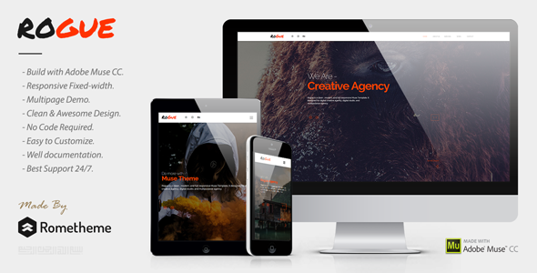 ROGUE v1.0 — Creative Multi-purpose MUSE Template