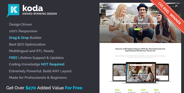 Koda v1.7.0 — Creative Multi-Purpose Theme