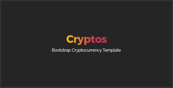 Cryptos — Cyptocurrency HTML Template