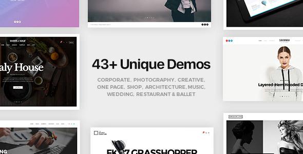 FatMoon v1.6.4 — Creative & Photography Multi-Purpose Theme