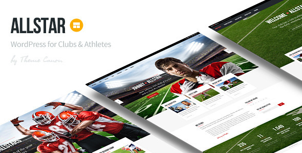 AllStar v1.11 — WordPress Club Theme