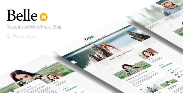 Belle v1.13 — Responsive WordPress Blog Theme